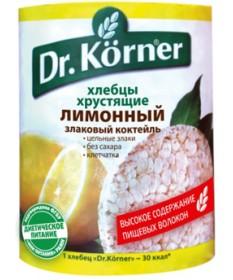 Хлебцы Dr. Korner «Злаковый коктейль» лимонный