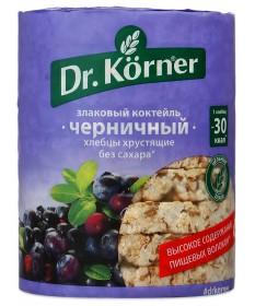 Хлебцы Dr. Korner «Злаковый коктейль» черничный