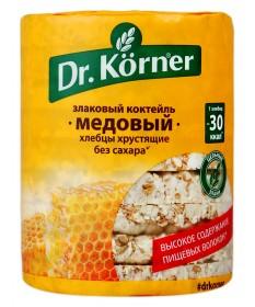 Хлебцы Dr. Korner «Злаковый коктейль» медовый
