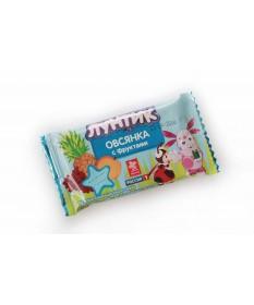 """Батончик """"Лунтик Овсянка с фруктами в молочной глазури"""" 40 гр"""