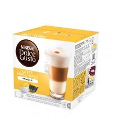 Кофе Nescafe Dolce Gusto Latte Macchiato со вкусом ванили кофе в капсулах, 16 шт