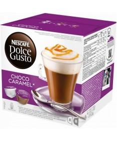 Кофе Nescafe Dolce Gusto Chococino Caramel со вкусом карамели кофе в капсулах, 16 шт