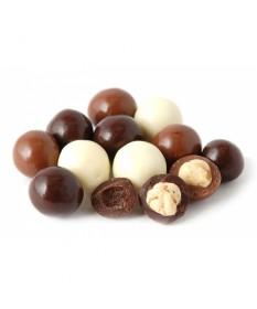 Орехи и фрукты в глазури микс 300г