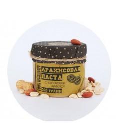 """Паста арахисовая """"Классическая"""" с кусочками арахиса 300 гр."""