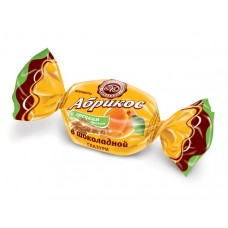 Абрикос с грецким орехом в шоколаде 200г