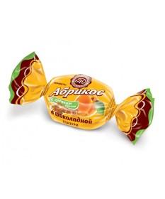 Абрикос с грецким орехом в шоколаде 1 кг