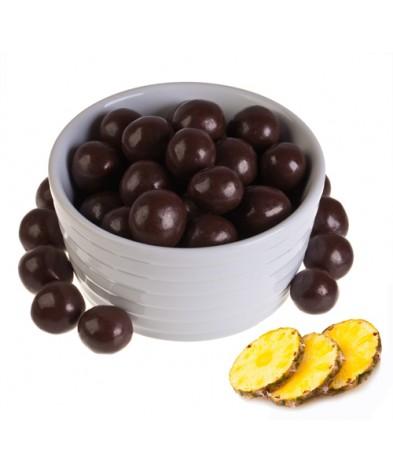 Ананас в темном шоколаде 500 гр