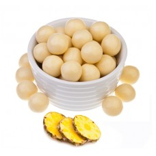 Ананас в белом шоколаде (упаковка 150 грамм)