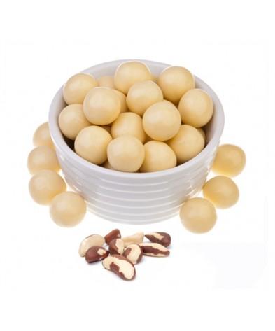 Бразильский орех в белом шоколаде 200 гр