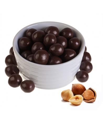 Фундук в темном шоколаде 500 гр