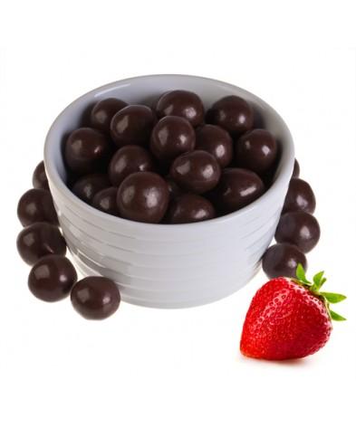 Клубника в темном шоколаде (упаковка 150 грамм)