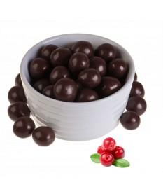Клюква в темном шоколаде 500 гр