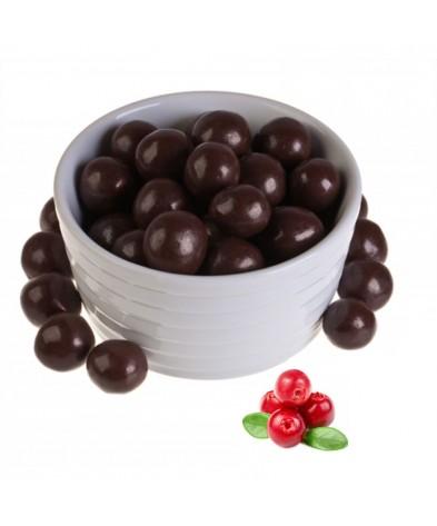 Клюква в темном шоколаде (упаковка 150 грамм)