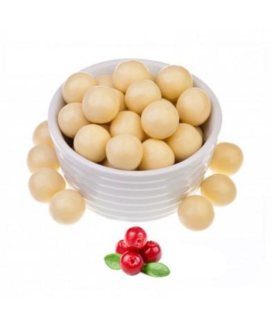 Клюква в белом шоколаде (упаковка 150 грамм)