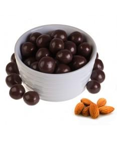 Миндаль в темном шоколаде (упаковка 150 грамм)